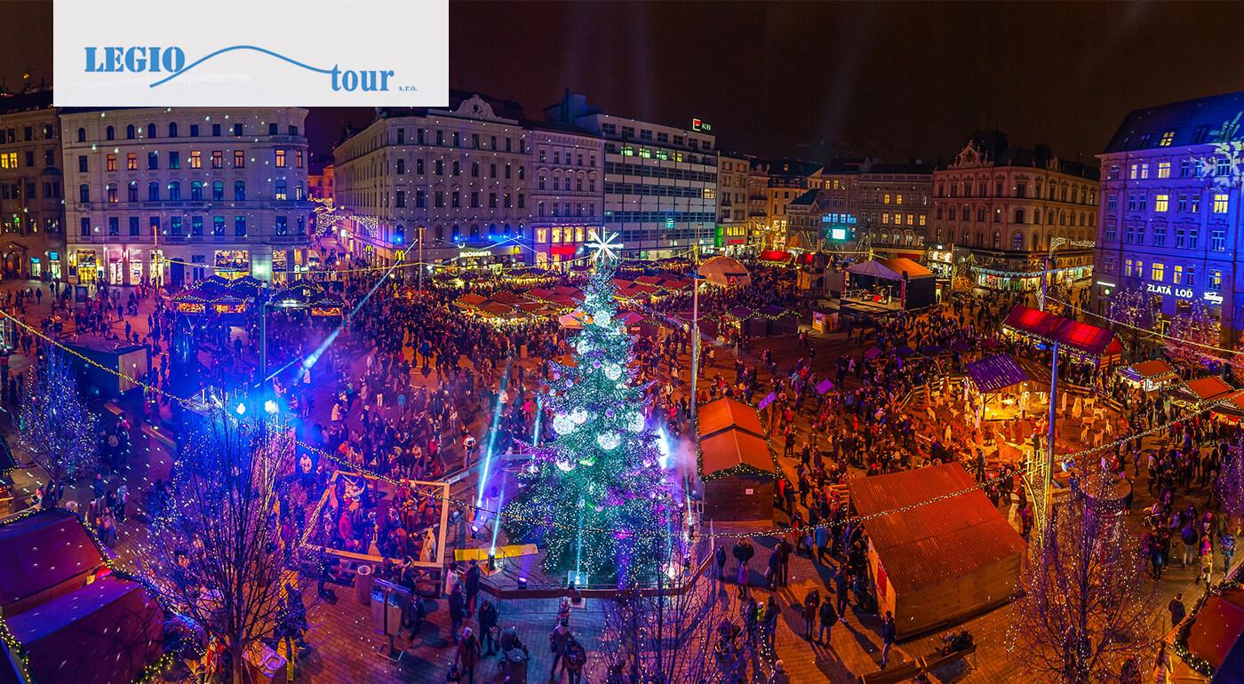 Adventné Brno: 1-dňový zájazd spojený s návštevou vianočných trhov