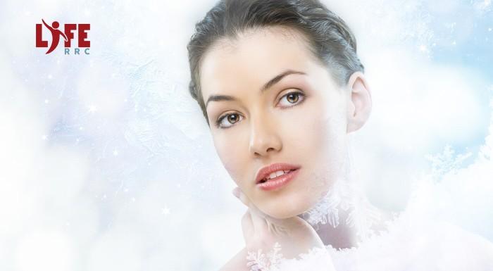 Kryoterapia tváre pre spevnenie a omladenie pleti