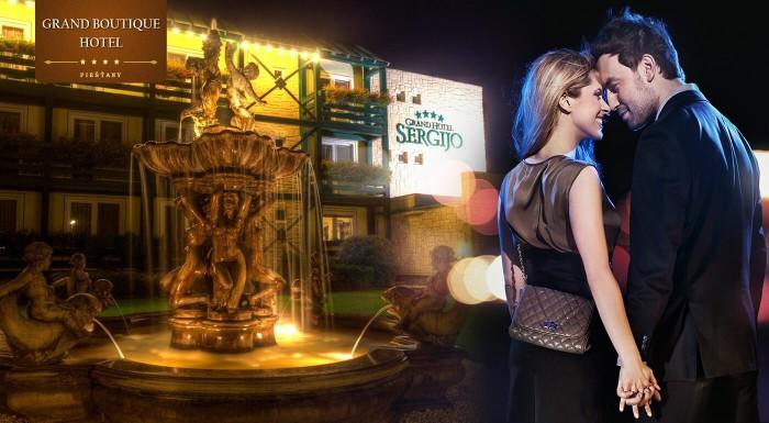 Romantická noc v Grand Boutique Hoteli Sergijo****