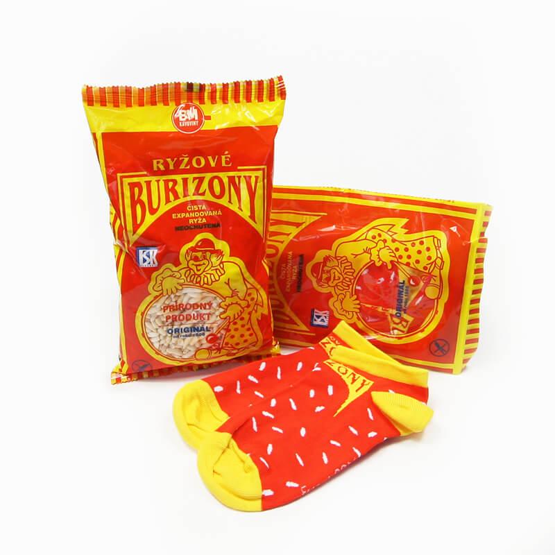 FunnySOX ponožky Burizony  nízke - veľkosť 36-40