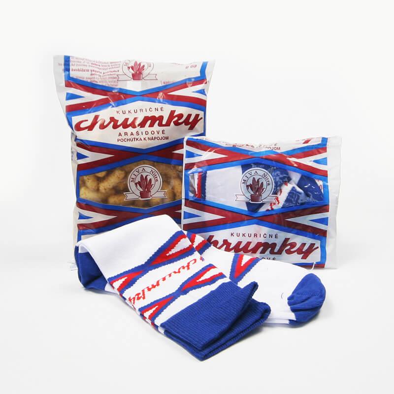 FunnySOX ponožky Chrumky modré - veľkosť 41-45
