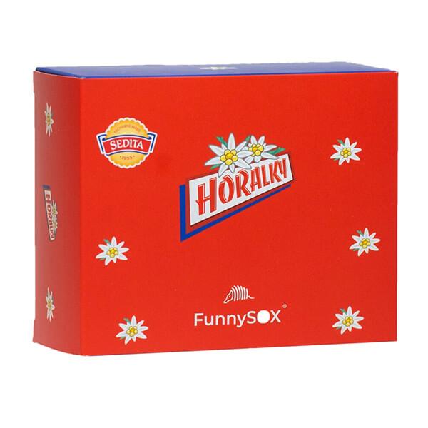 FunnySOX darčeková krabička Horalky
