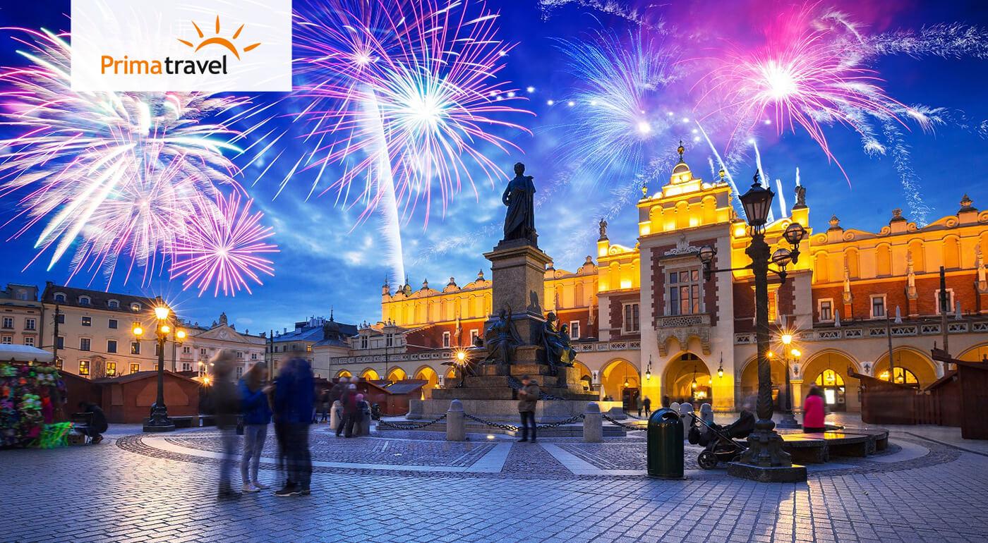 Poľsko: Silvester v Krakove, čarovné Zakopané a novoročný wellness v aquaparku