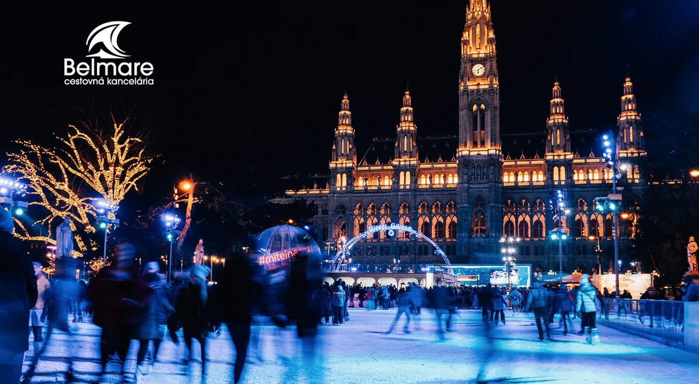 Adventná Viedeň s návštevou trhov, zámku Schönbrunn a Múzea cisárovnej Sisi s odjazdom z východného Slovenska