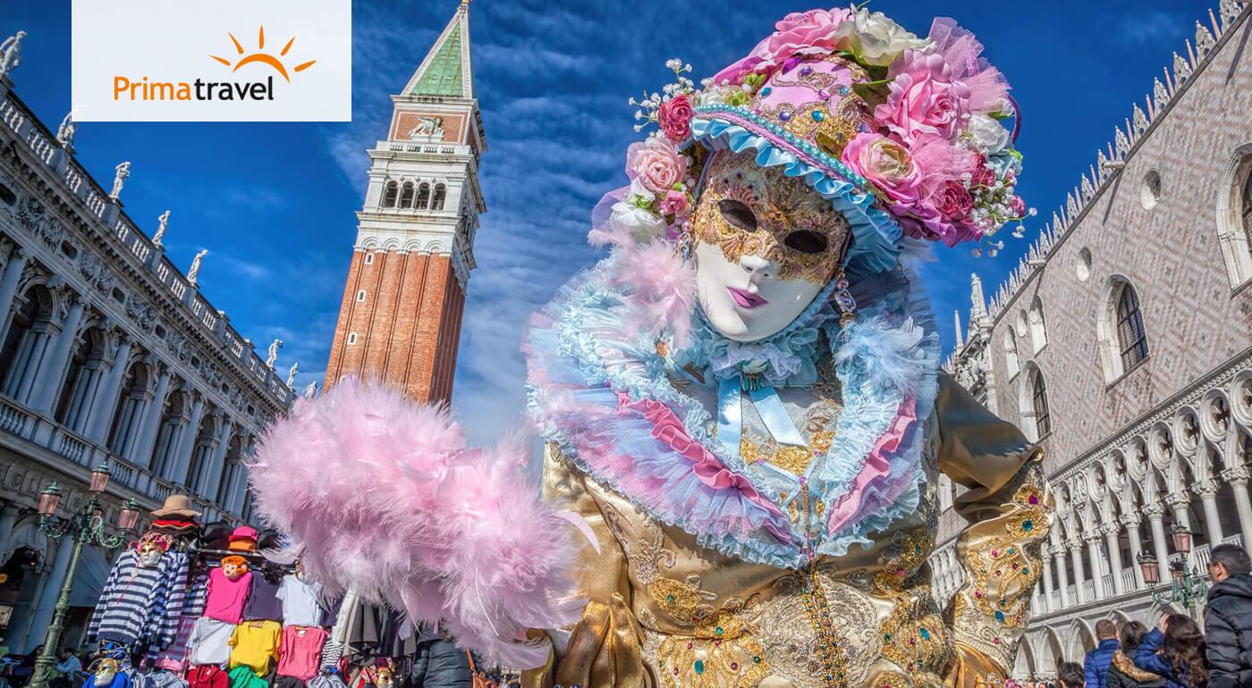 Benátsky karneval aj romantika vo Verone