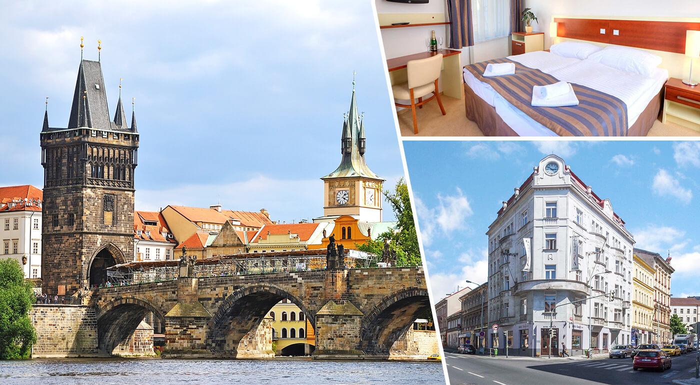 Praha: Pár pohodových dní v Hoteli Gloria**** blízko historického centra