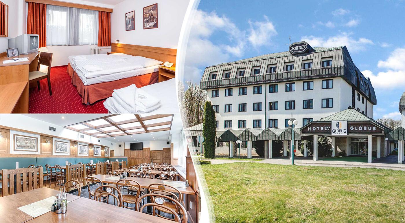 Praha: 3-dňový pobyt pre dvoch s ubytovaním v Hoteli Globus***