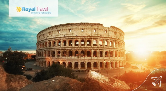 Rím letecky na 5 dní