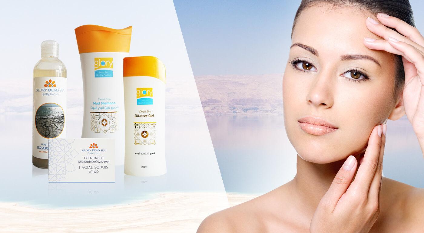 Šampóny, sprchovacie gély a bahenné masky s minerálmi z Mŕtveho mora - exkluzívne u nás!