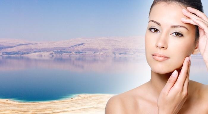 Kozmetika s obsahom minerálov z Mŕtveho mora