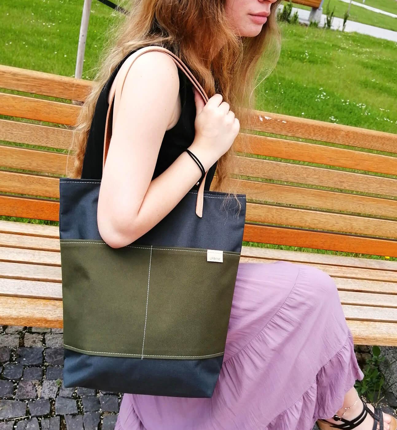 Urbanic bag - NeroVerde