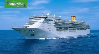 Plavba luxusnou loďou Costa Victoria