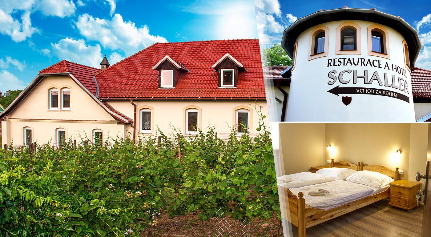 Južná Morava: Oddychový pobyt v Hoteli Schaller neďaleko Znojma s ochutnávkou vín a vstupom do sauny