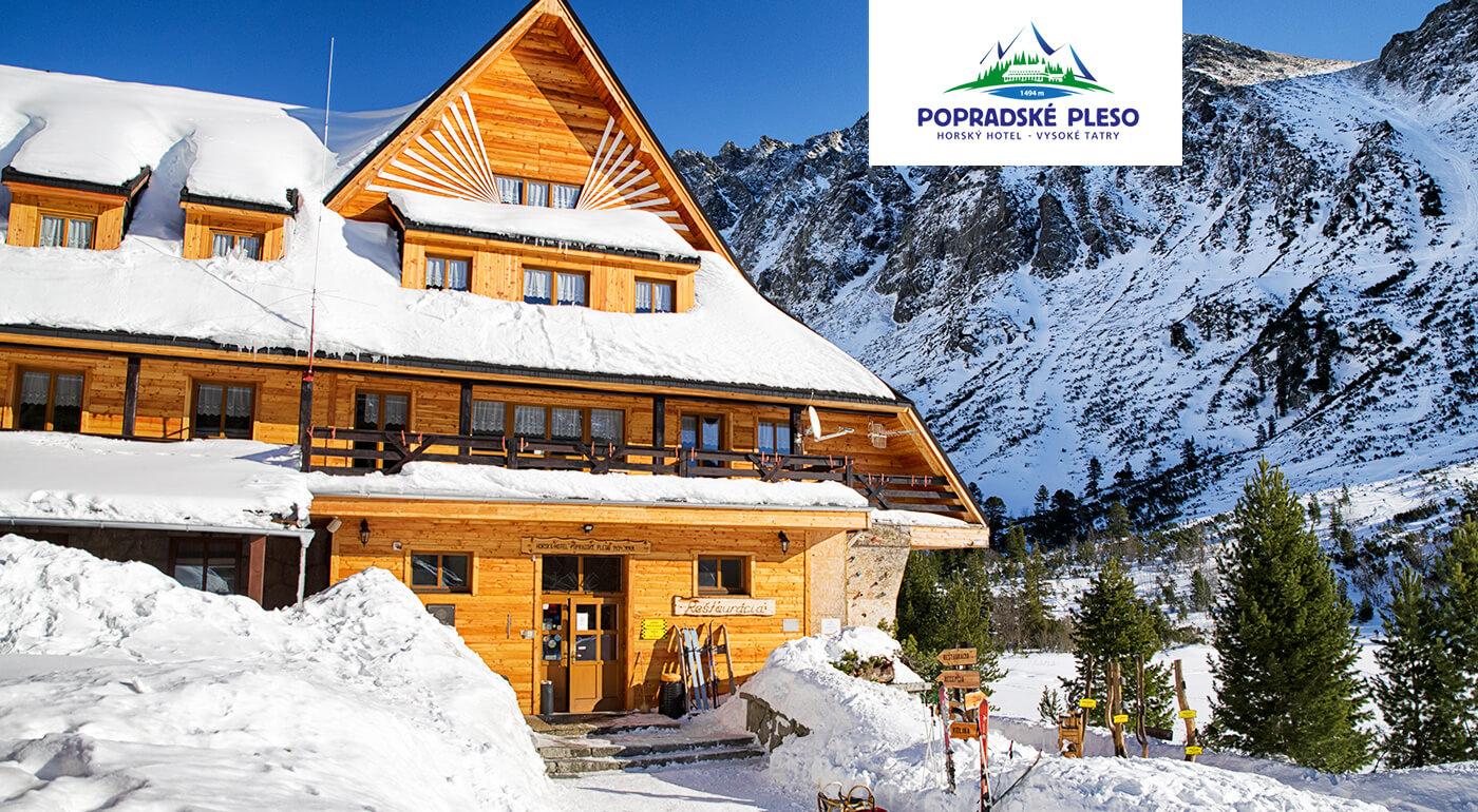 Vysoké Tatry: Zimná alebo jarná idylka v Horskom hoteli Popradské pleso s plnou penziou a zľavami do wellness