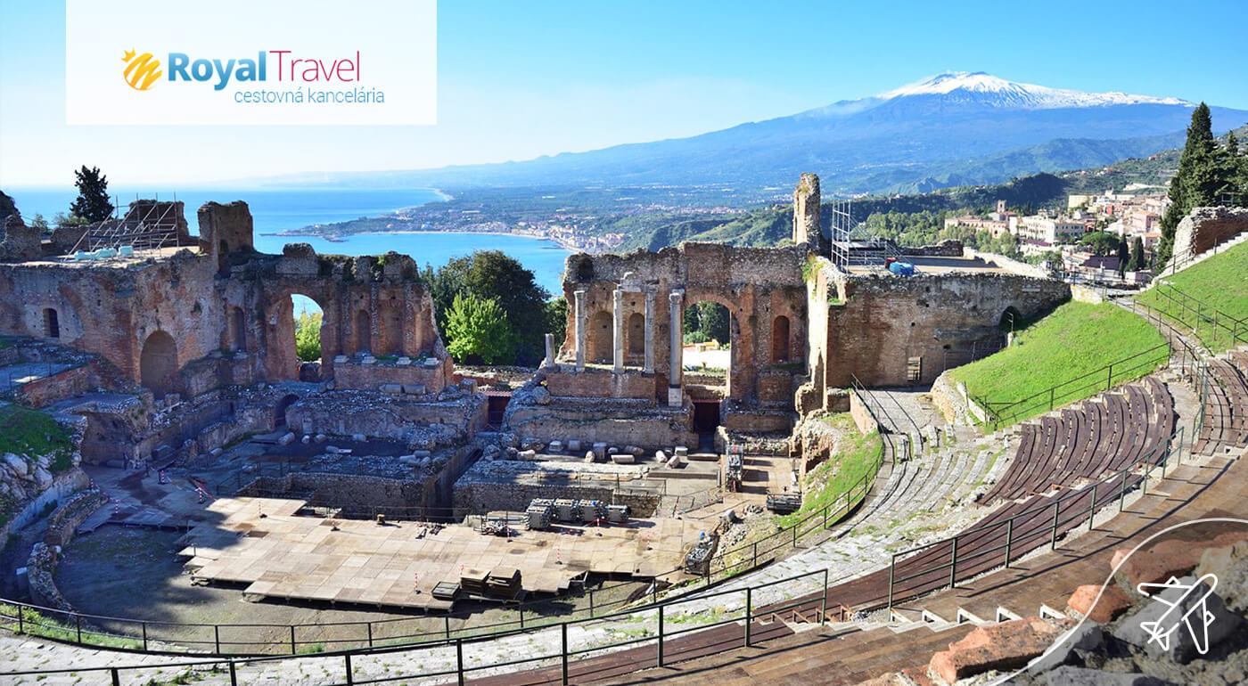 Nádherná Sicília počas 4-dňového zájazdu s odletom z Viedne