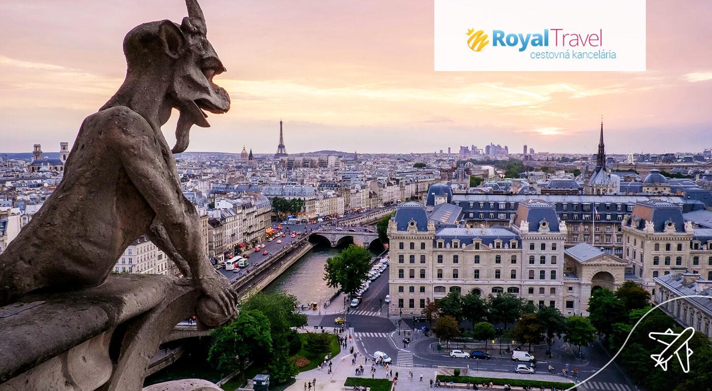 Paríž: Letecký poznávací zájazd do najromantickejšieho mesta na svete na 5 dní