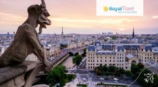 Letecký zájazd Paríž 5 dní Royal Travel