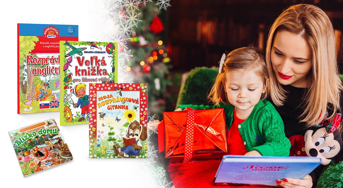 Detské knižky z vydavateľstva Matys - rozprávkový darček pre každého drobca