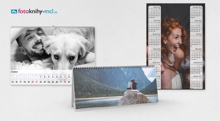 Kvalitné fotokalendáre z vlastných fotiek