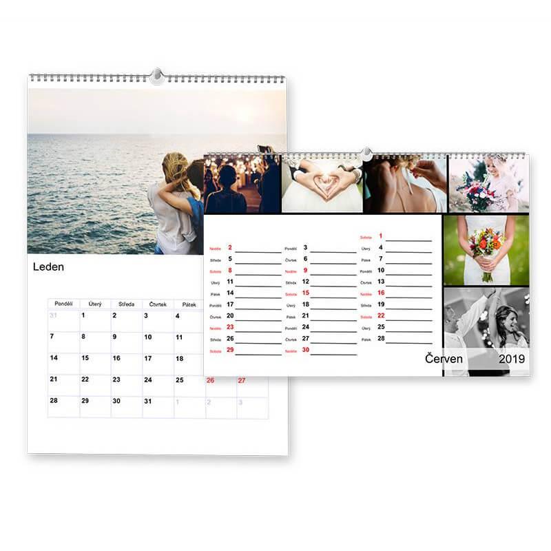 Nástenný mesačný kalendár A4 (S12, S13)