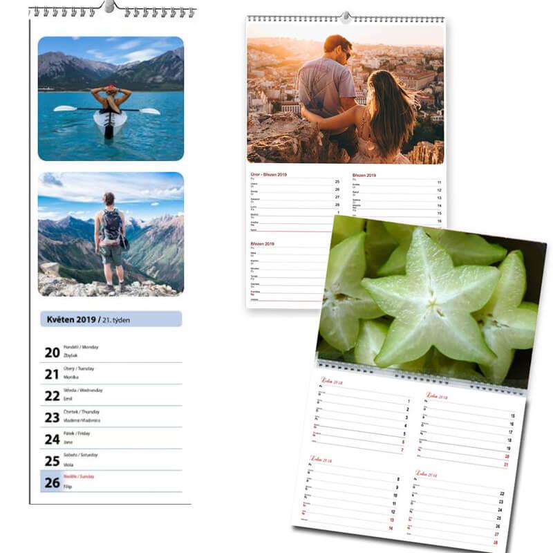 Plánovací kalendár (S17, S18, S19, S31)