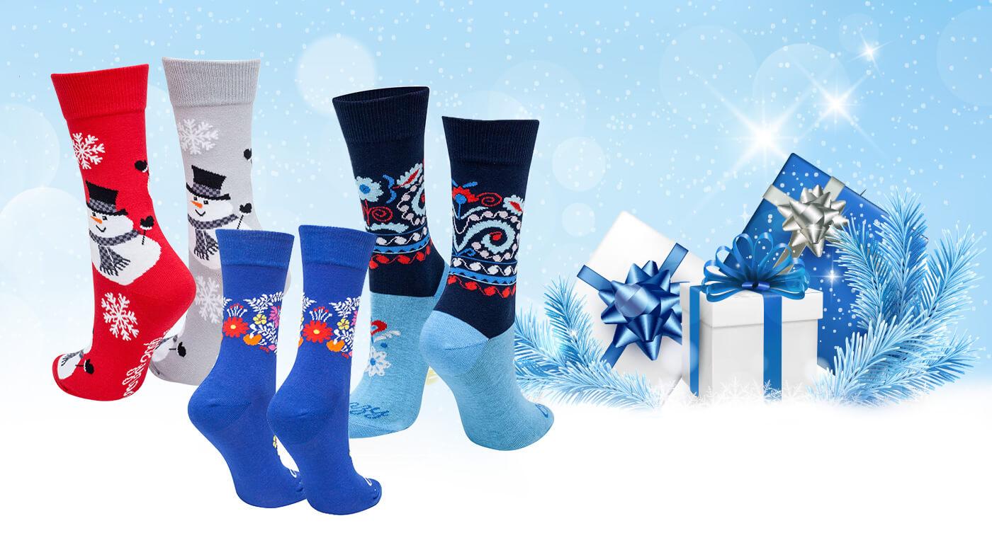 Neobyčajné ponožky Crazy Step vyrobené na Slovensku - v ponuke aj veselé vianočné ponožky pre celú rodinu!