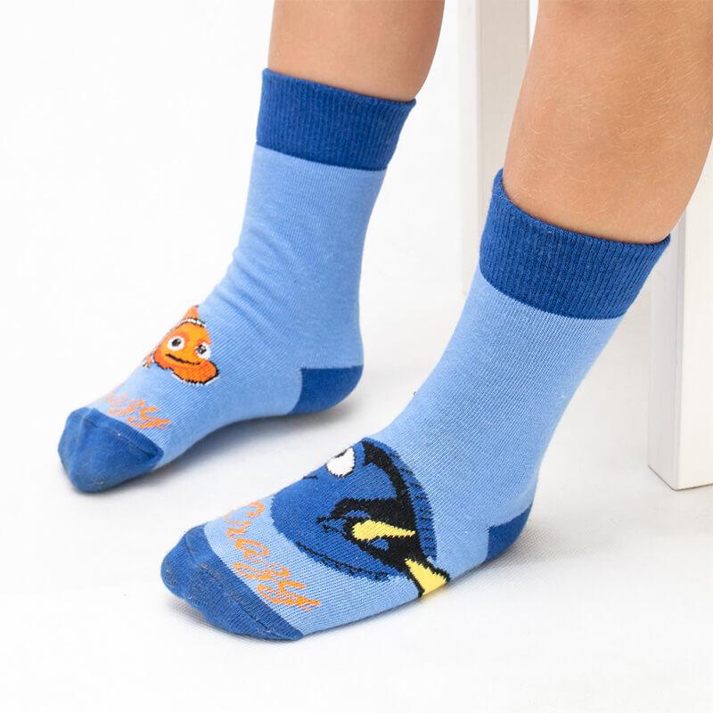 Crazy Step detské ponožky Rybičky - veľkosť 23-26
