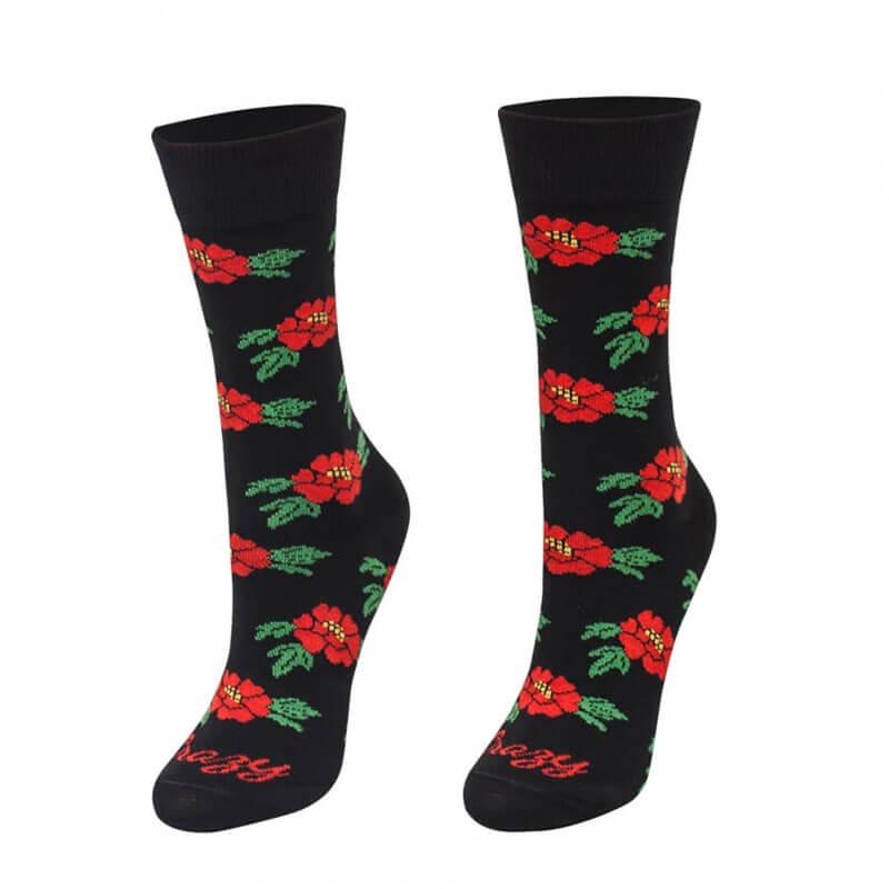Crazy Step ponožky Balkánsky kvet - veľkosť 39-42
