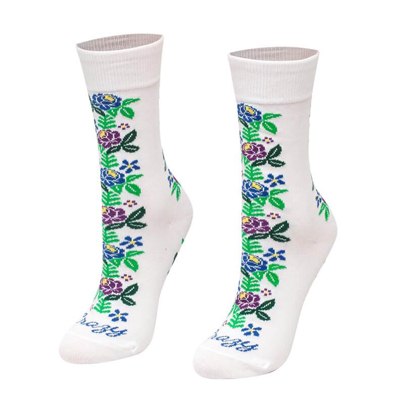 Crazy Step ponožky Ľudová ruža - veľkosť 35-38