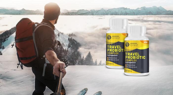 Travel Probiotic Complex na podporu trávenia