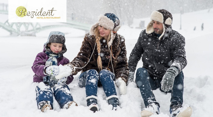 Vyberte sa s najbližšími do Hotela Rezident*** v Turčianskych Tepliciach a užite si rodinný pokoj a pohodu počas 3- či 4-dňového pobytu s polpenziou. Jedno dieťa do 11,99 rokov má pobyt zadarmo!