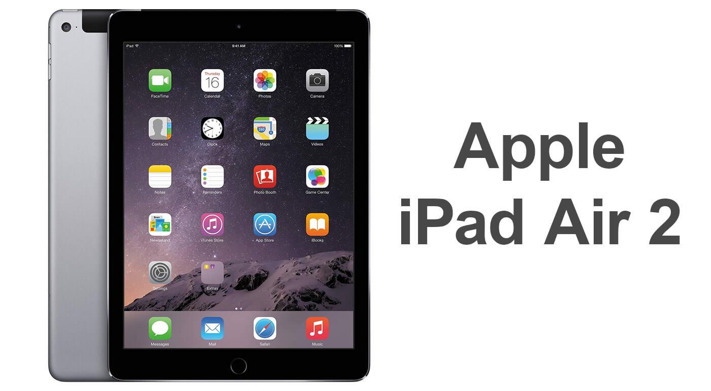 Repasovaný Apple iPad Air 2 64 GB (WIFI + LTE model A1567) - limitovaná ponuka
