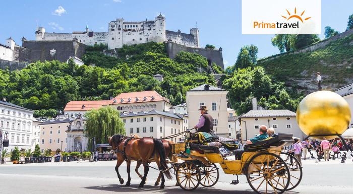 Spoznajte zaujímavé rakúske miesta, historické pamiatky alebo úchvatnú prírodu počas plavby po rieke Wolfgangsee. Užite si 2-dňový zájazd do Salzburgu s CK Prima Travel.