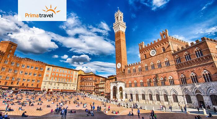 Spoznajte jednu z najkrajších častí Talianska - Toskánsko, na 5-dňovom zájazde s CK Prima Travel počas Veľkej noci. Objavte jeho zákutia, jedinečnú atmosféru a historickú architektúru.
