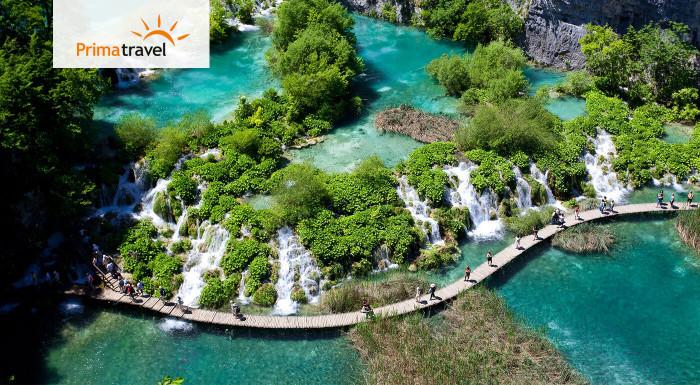 Poznávací zájazd Plitvické jazerá v Chorvátsku