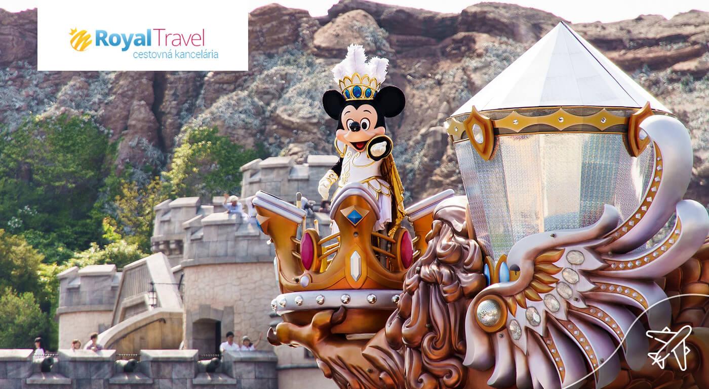 Paríž a Disneyland letecky na 4 dni s odletom z Bratislavy