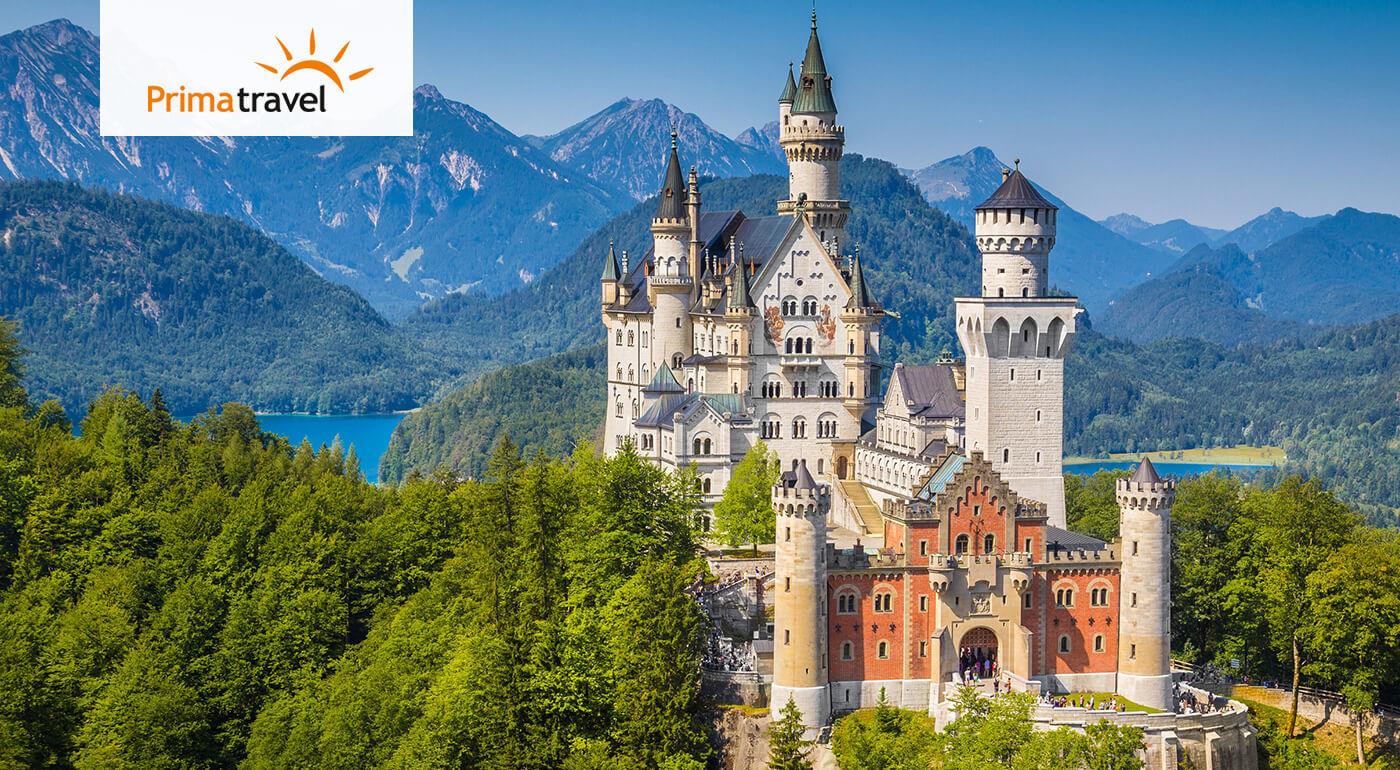 Bavorsko: 2-dňový poznávací zájazd do Nemecka - navštívte 4 najkrajšie bavorské zámky