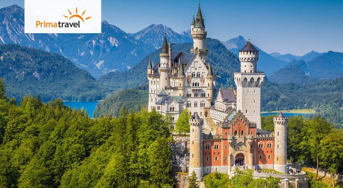 Bavorské zámky na rozprávkovom výlete v Nemecku