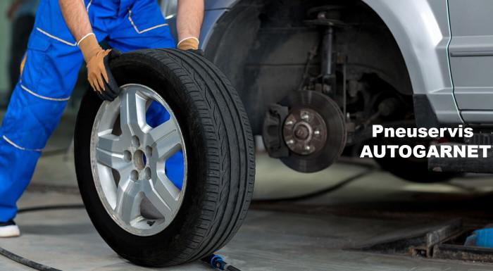 Prezutie pneumatík v pneuservise AUTOGARNET