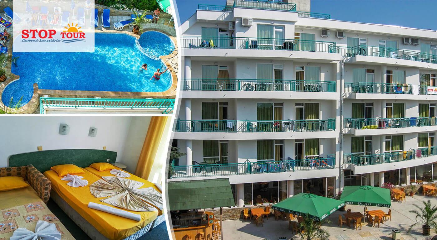 Primorsko, Bulharsko: Letná pohodička v Hoteli Primorsko*** s raňajkami a autobusovou alebo leteckou dopravou v cene