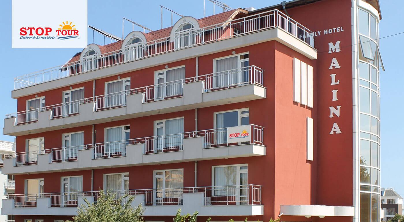 Primorsko, Bulharsko: 12 dní s ubytovaním v Hoteli Malina** s raňajkami - letecky, autobusom alebo autom