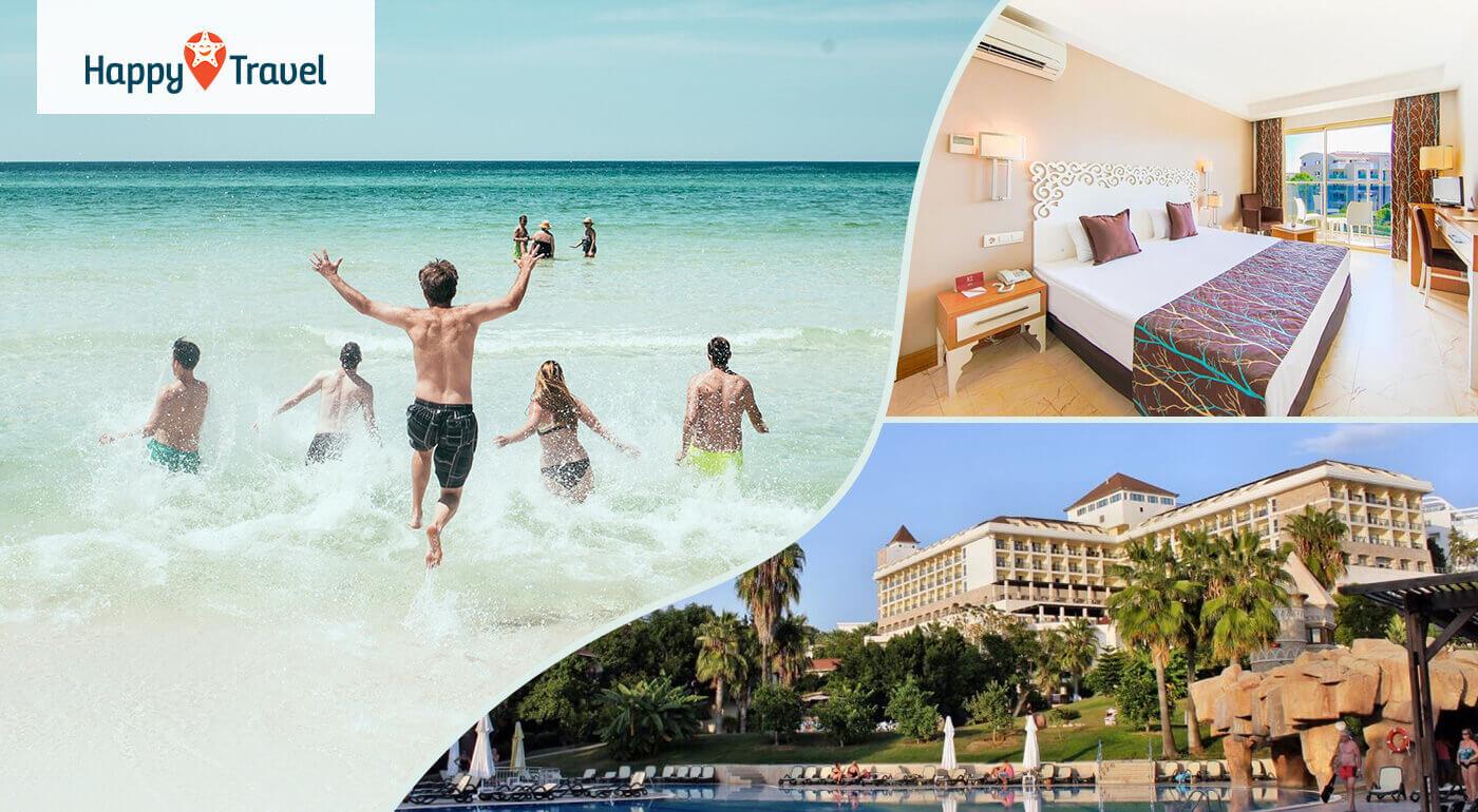 Turecko Side: 8 alebo 15 dní s ultra all inclusive v 5* Horus Paradise Luxury Resort Hotel letecky z Bratislavy alebo Košíc
