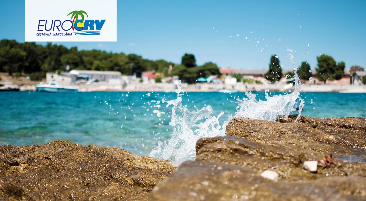 Slnečné Chorvátsko - dovolenka v Crikvenici v Hoteli Mediteran*** s polpenziou a klimatizovanými izbami s výhľadom na more