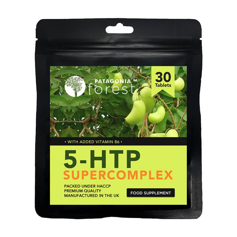 Patagonia Forest: Prírodný doplnok 5-HTP 100 mg (balenie 30 tabliet)