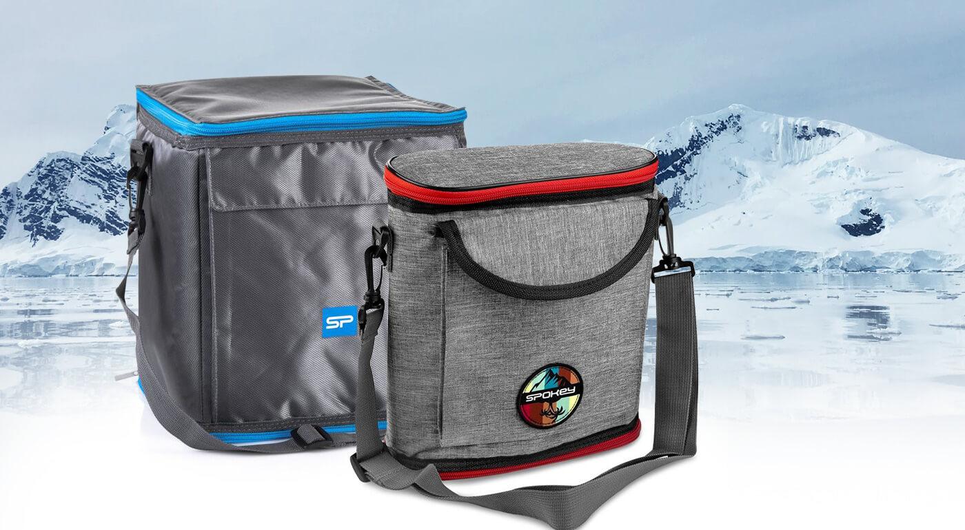 Termotaška Spokey - praktické chladiace tašky s objemom 1,2 - 12 litrov