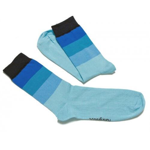 FunnySOX ponožky Pásavec modré - veľkosť 36-40