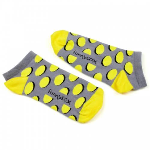 FunnySOX ponožky Jelouky nízke tmavé - veľkosť 36-40