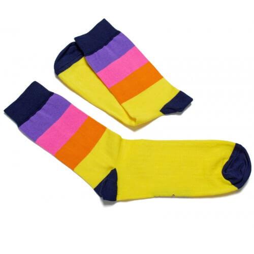 FunnySOX ponožky Pásavec farebné - veľkosť 36-40