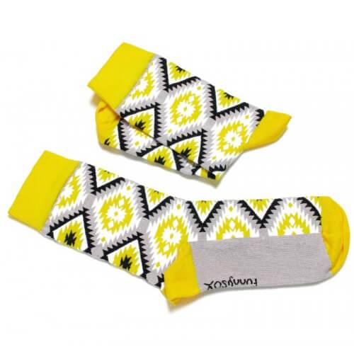 FunnySOX ponožky Indiánky Vinetú - veľkosť 36-40