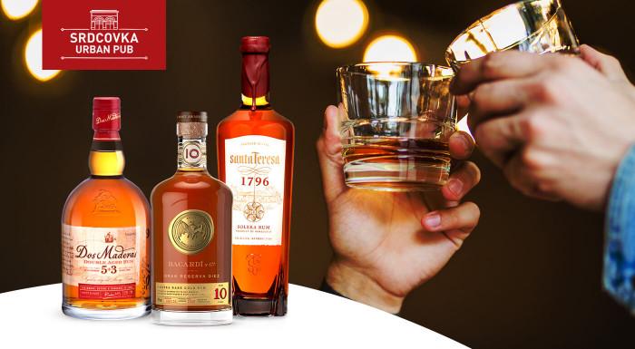 Rumová degustácia v Srdcovke